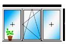 обмер окна для установки нащельника