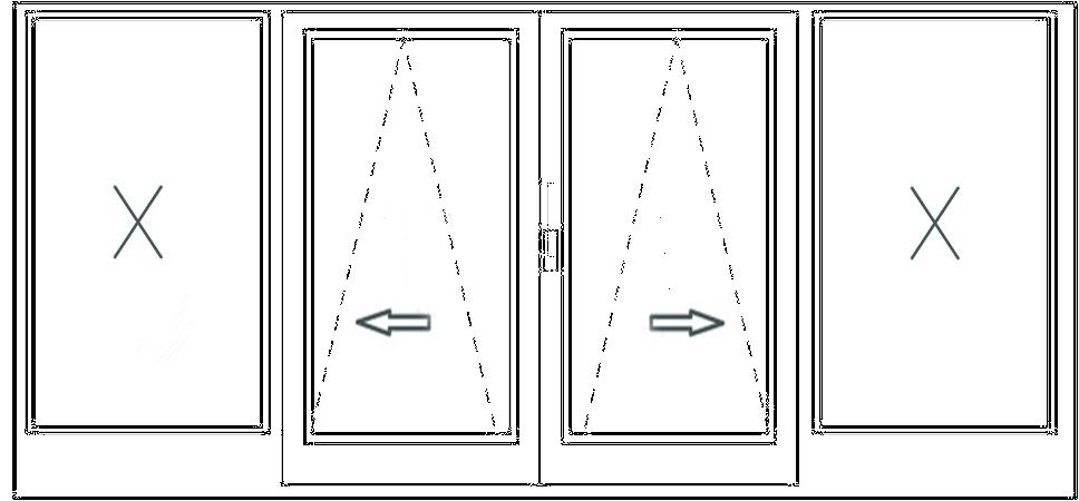 раздвижные оконные системы схемы